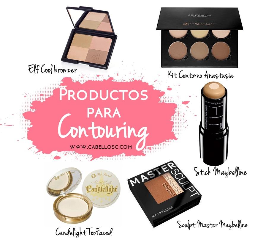 maquillaje para contouring