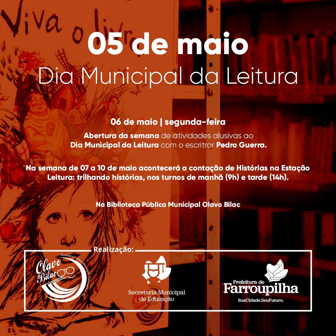 Dia Municipal da Leitura