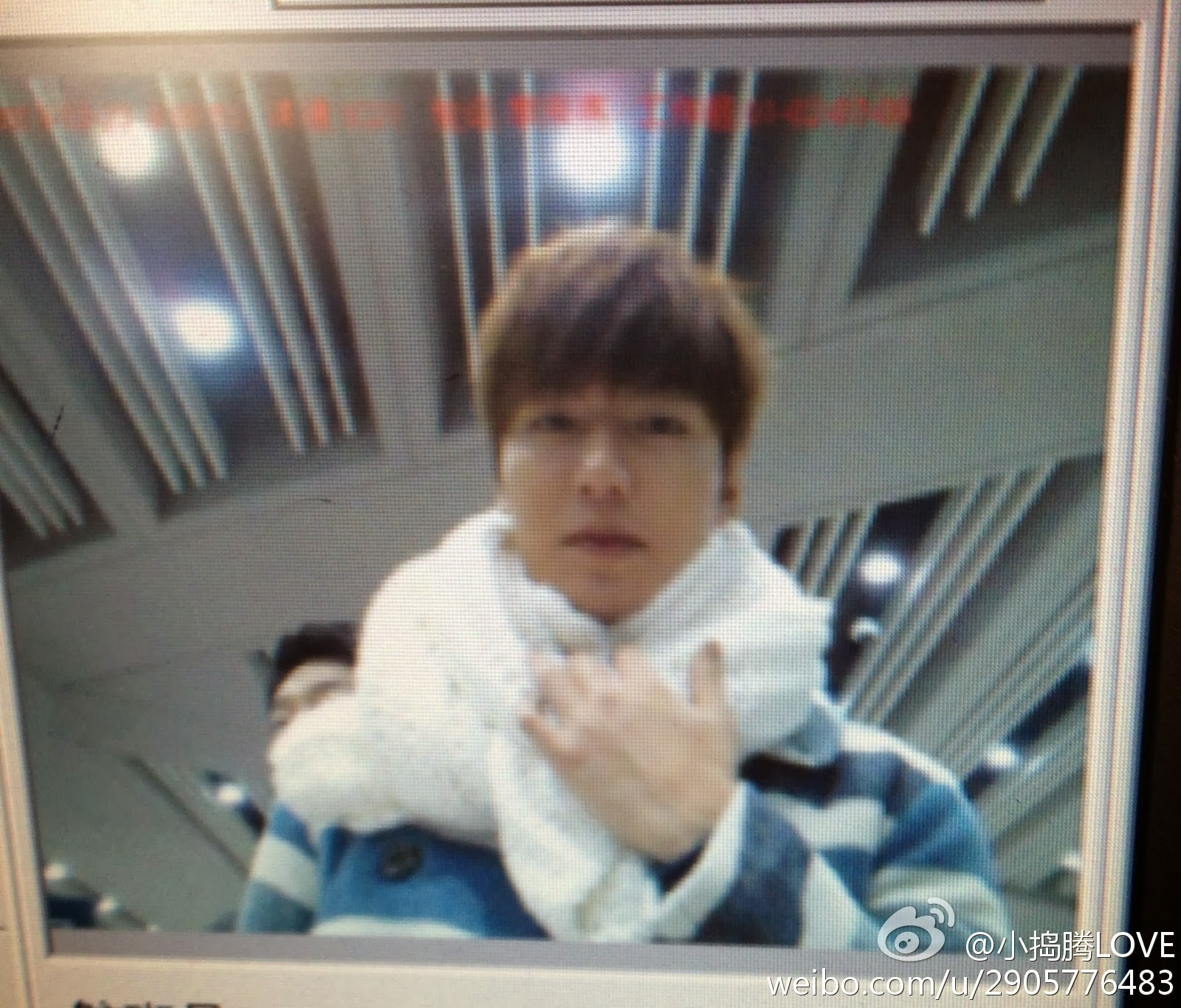 the imaginary world of monika lee min ho at beijing capital arrival gimhae international airport 23 12 2013 doing commercial film