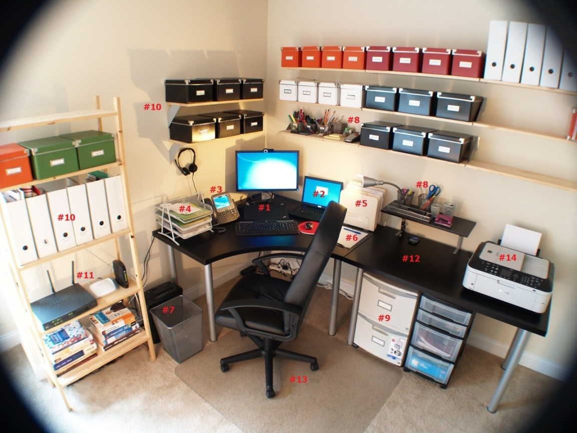 Tips for Creating a Productive Home Office ~ Tech News 24h
