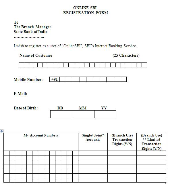 sbi po online form for 2015