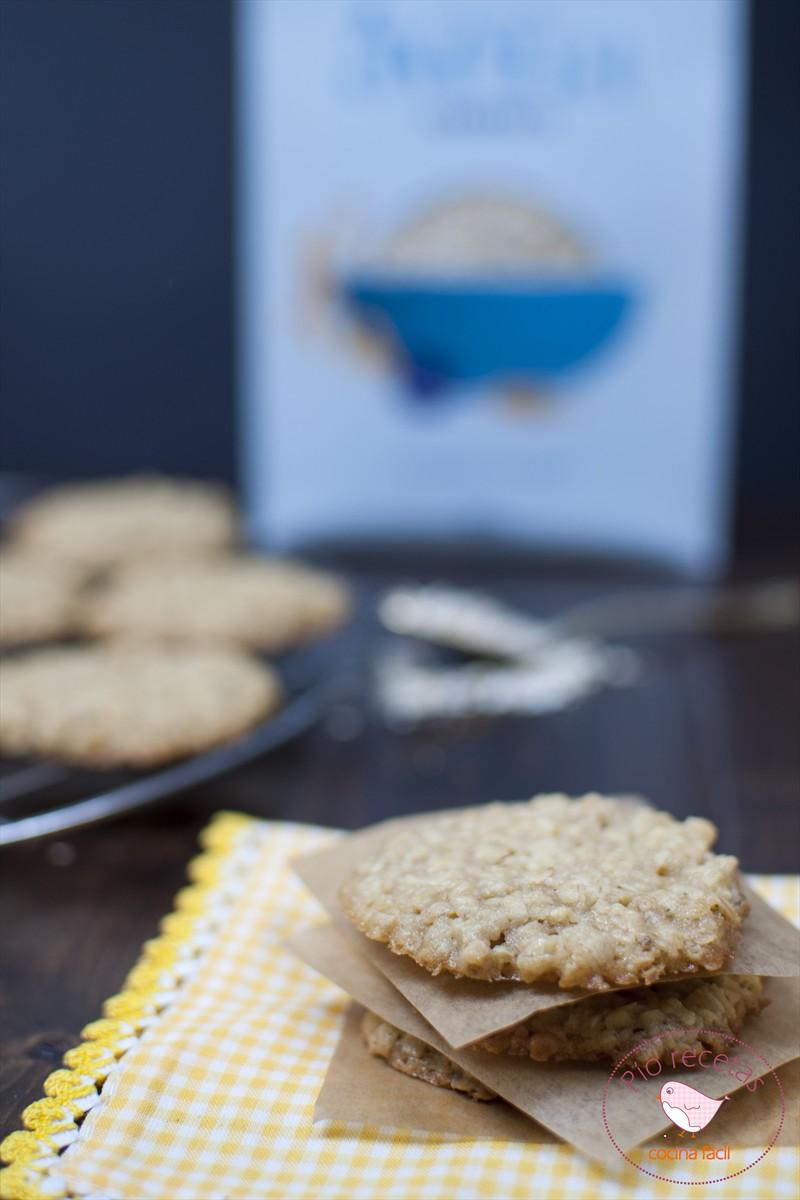 galletas avena sin huevo con caja