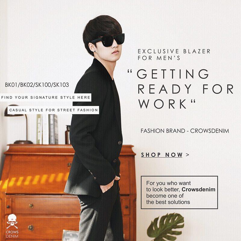blazer untuk kerja kantoran