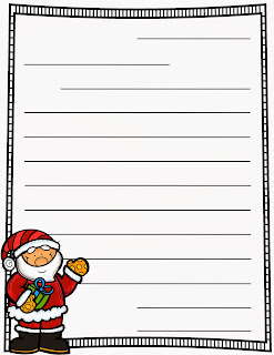 Santa Letter Template For Kindergarten Freebie: letters to santa