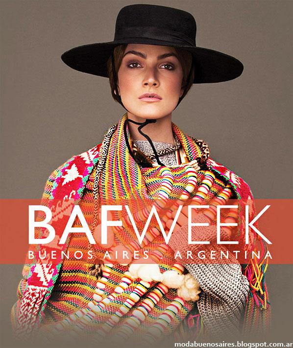 Bafweek otoño invierno 2014. Semana de la Moda en Buenos Aires otoño invierno 2014.