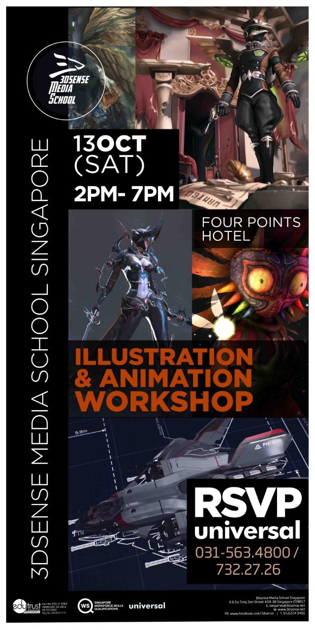 ILLUSTRATION & ANIMATION workshop