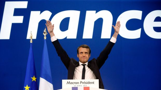 Macron won 65% at 2017 Frence Election!