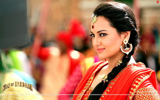 Sonakshi Sinha Hot Salwaar kameez HD Wallpaers Son Of Sardaar