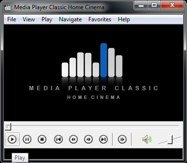How to repair volume media player classic - MVC