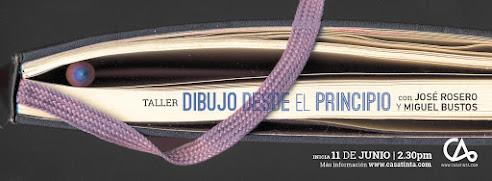 TALLER DIBUJO DESDE EL PRINCIPIO // 11 de junio