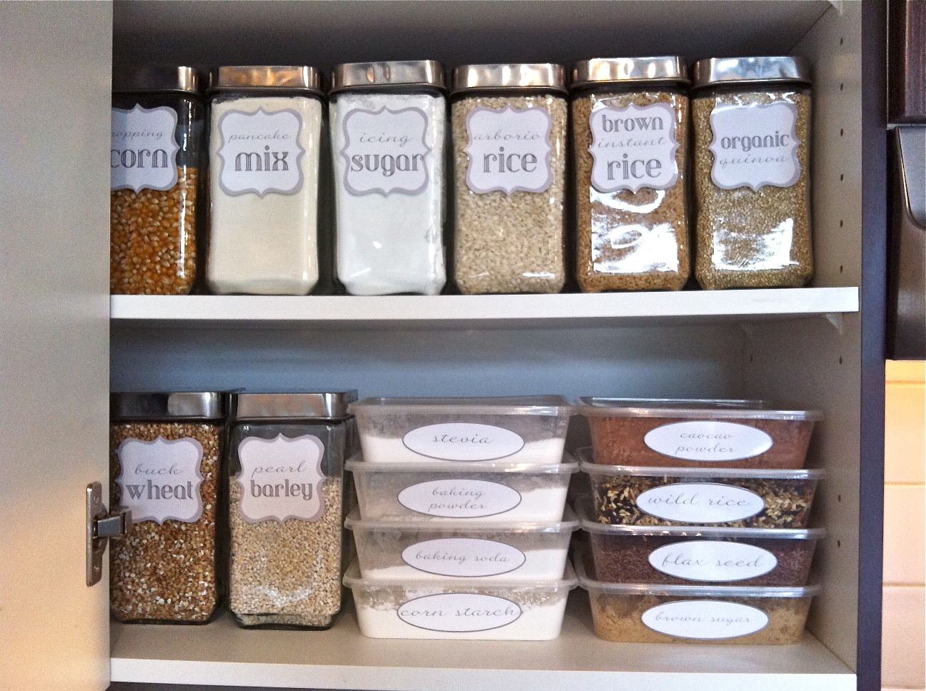 Kitchen Pantry Storage Cabinet Ideas Audreycouture