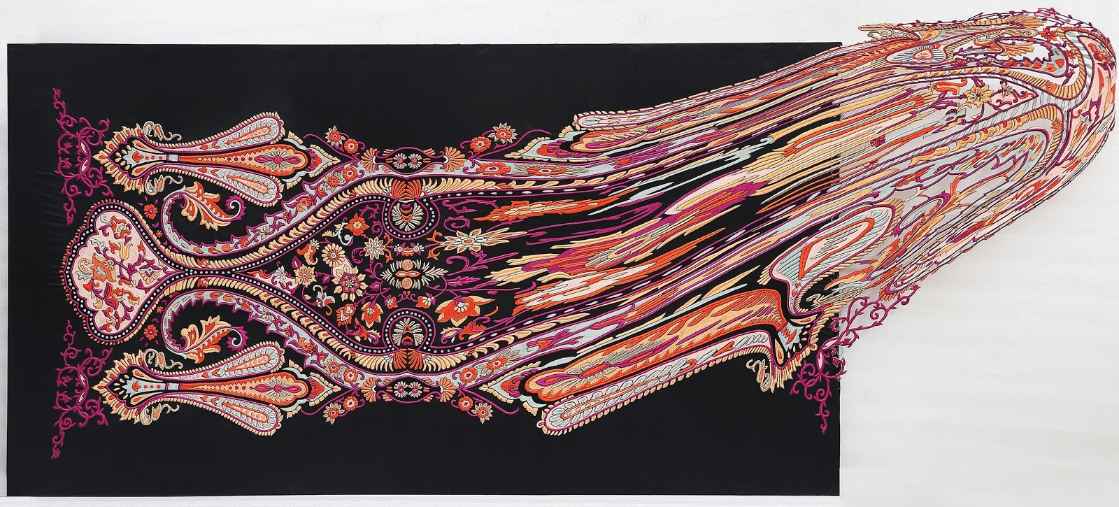Faig Ahmeds dekonstruierte Teppiche  Teppichkunst der