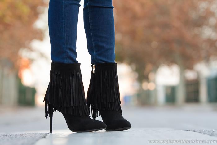BLog adicta a los zapatos con calzado de tendencia botines estilo boho con flecos