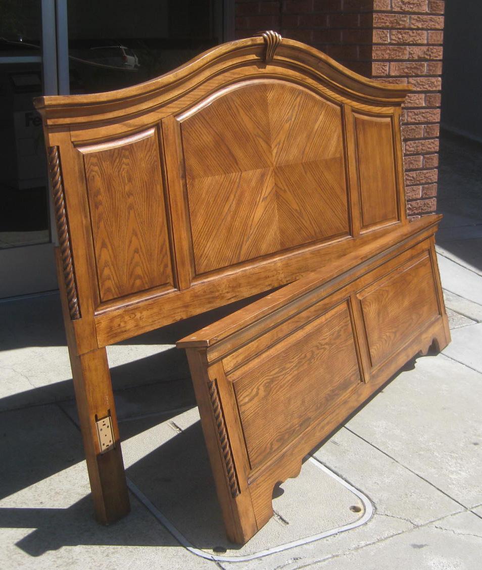 uhuru furniture collectibles sold eastern or cal king bed frame 60. Black Bedroom Furniture Sets. Home Design Ideas