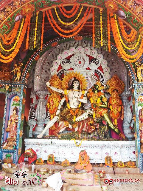 Ama Medha: Mal Godown, Cuttack Shiva Medha 2015 - Photo By Ashutosh Tripathy