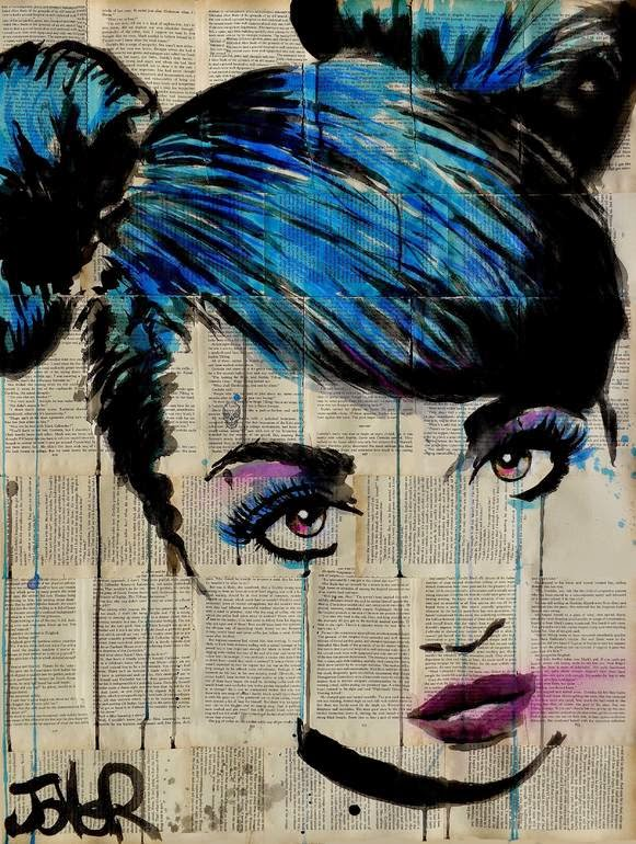 04-Bubblegum-Loui-Jover-Drawings-on-Book-Pages-www-designstack-co