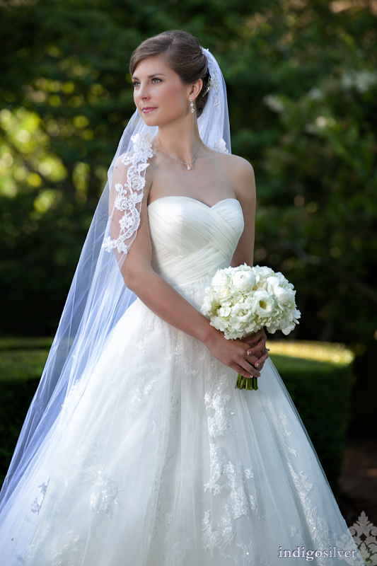 katherine | wilmington nc bridal portraits | temple gardens landfall