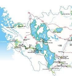 Muskoka Watershed map.