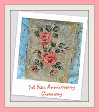 My blog's 1st  Anniversary Giveaway