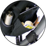 4moms Origami 電動摺疊嬰兒推車 多收納空間