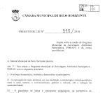 Projeto de Lei 998 - coleta seletiva dentro de escolas municipais