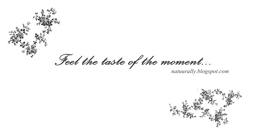 Feel the taste of the moment...