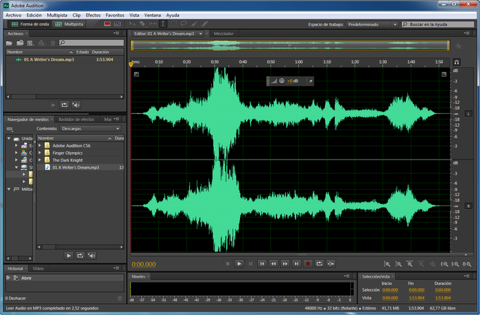������ ��������� ��� Adobe Audition Cs6