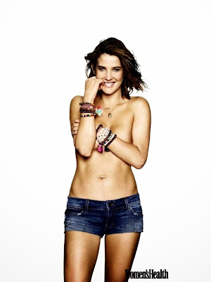 Cobie Smulders topless Women's Health magazine May 2015 photo