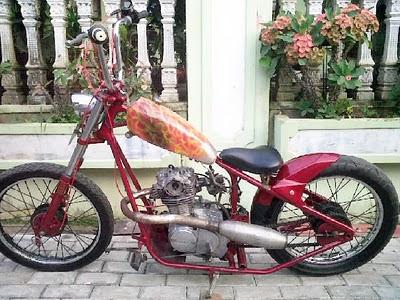 Honda CB Modif Chopper