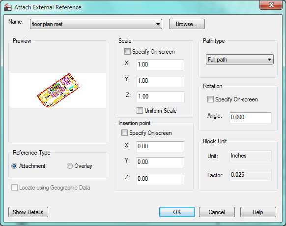 how to set scale factor in autocad