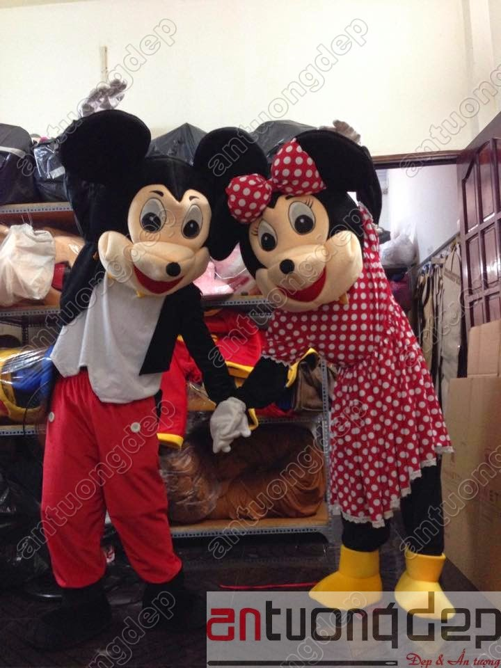 may bán mascot chuột mickey