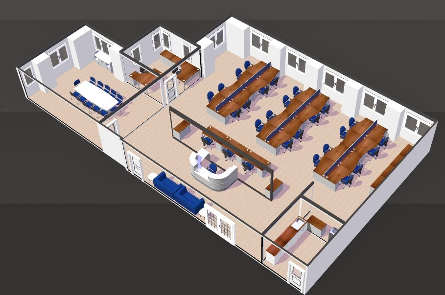 Verve Office space plans