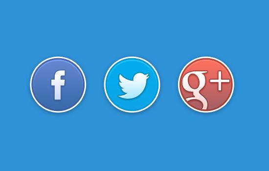 Nút thích Facebook, +1 Google, Twitter chuẩn HTML5