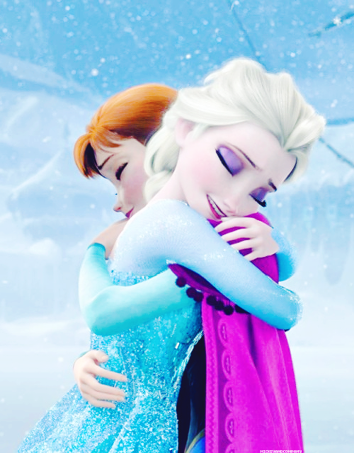 elsa and anna hugging coloring pages - charmes club fevereiro 2014