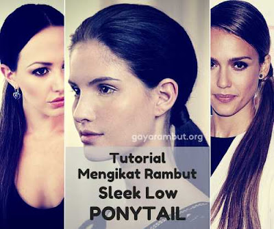 cara mengikat rambut ponytail_69200147