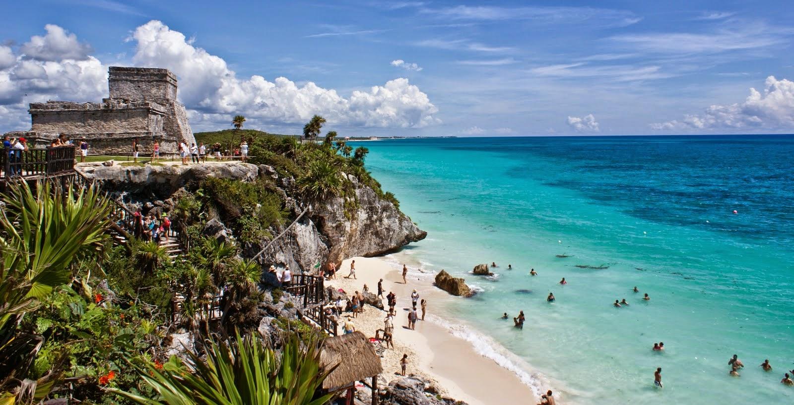 Tulum en México, viajes y turismo