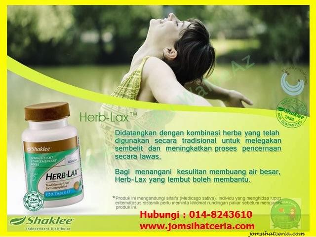 Herb-Lax, Pengedar Shaklee Kuantan, Testimoni Herb-Lax,