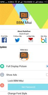 BBM MIUI 7 Versi 2.10.0.30 Apk