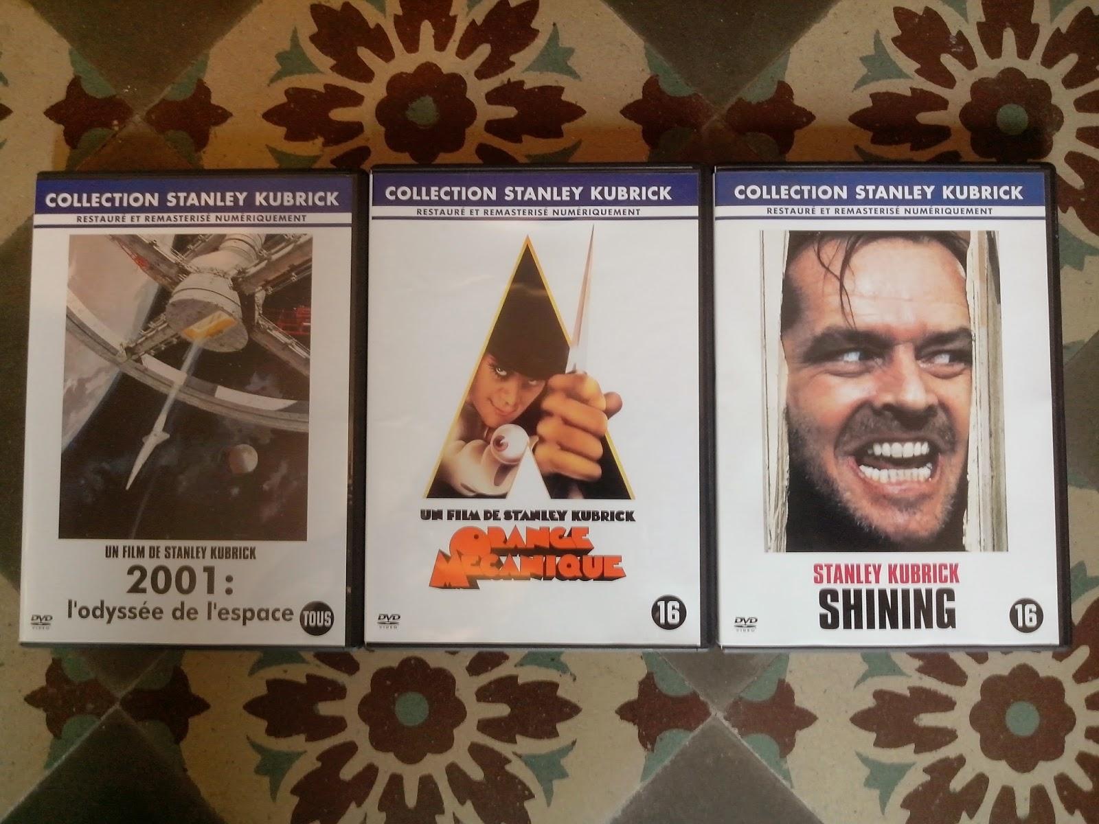 Divers DVD a vendre Kubrick
