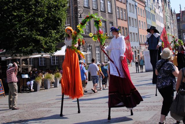 St. Dominic's Fair, Street Preformers in Gdansk, Poland