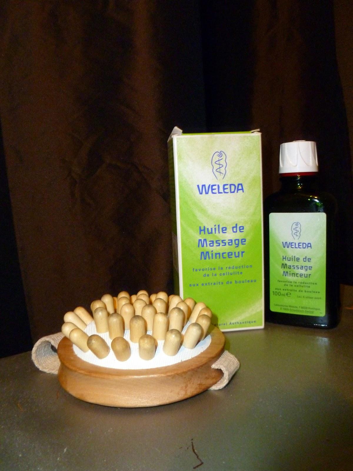 huile anti cellulite weleda avis