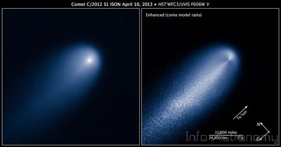 Komet ISON Akan Melintasi Planet Mars 1 Oktober 2013