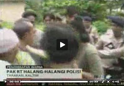 Penangkapan Lima Pembakar Kapal di Tarakan Ricuh - Ardiz Tarakan Borneo