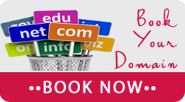 Book Your Domain Now