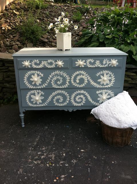 miss mustard seed dresser inspired