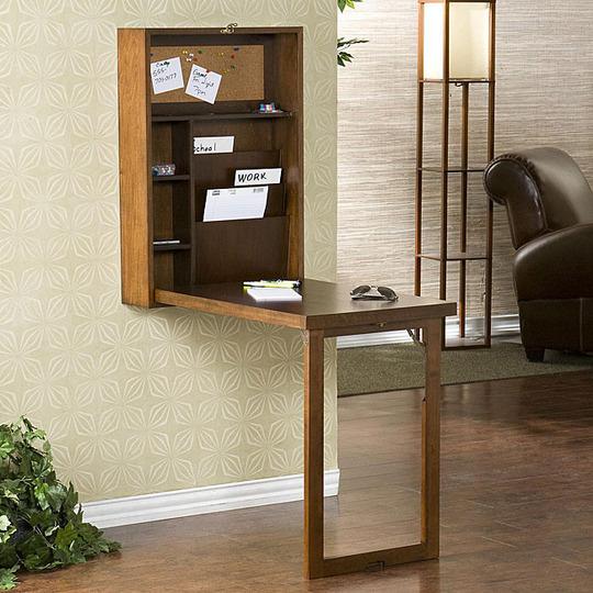 M nica dise os c mo armar un escritorio peque o en casa for Diseno de libreros para espacios pequenos