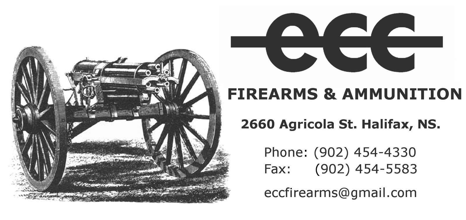 the halifax army navy store  ecc firearms and ammunition