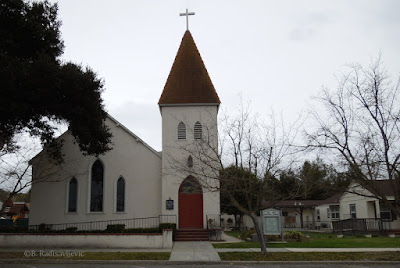 St. James Episcopal Church, Paso Robles, CA - ©B. Radisavljevic
