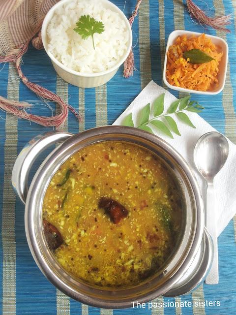 Paruppu Kulambu ( Dal Gravy )