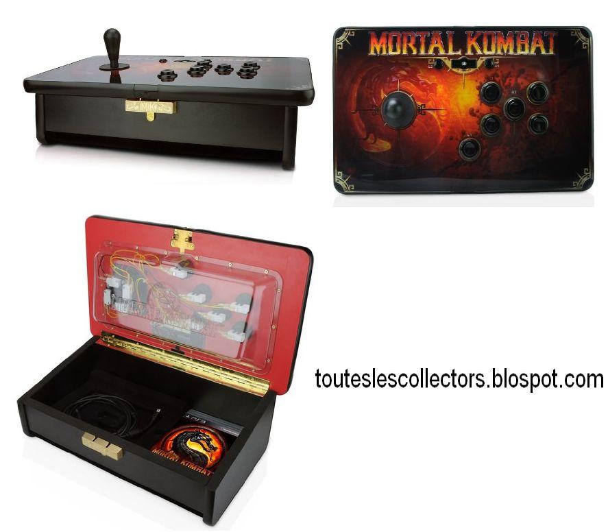 Voici l'édition collector de Mortal Kombat: